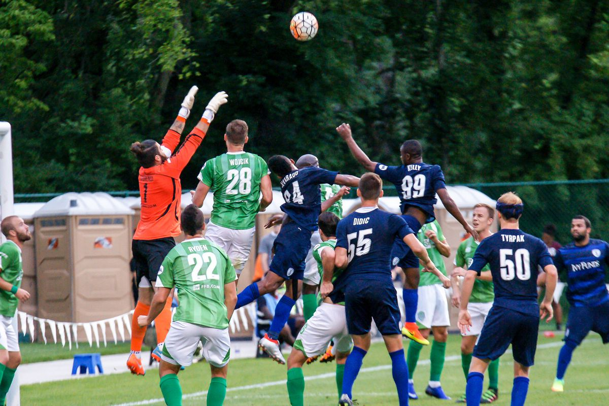 Energy FC keeper was  to the task versus the Rangers