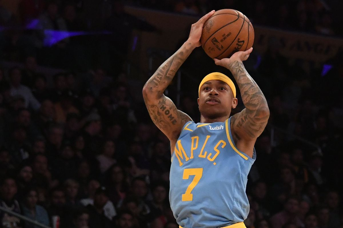 b9691ba78e21 Lakers News  Isaiah Thomas switching jersey number back to 3 ...