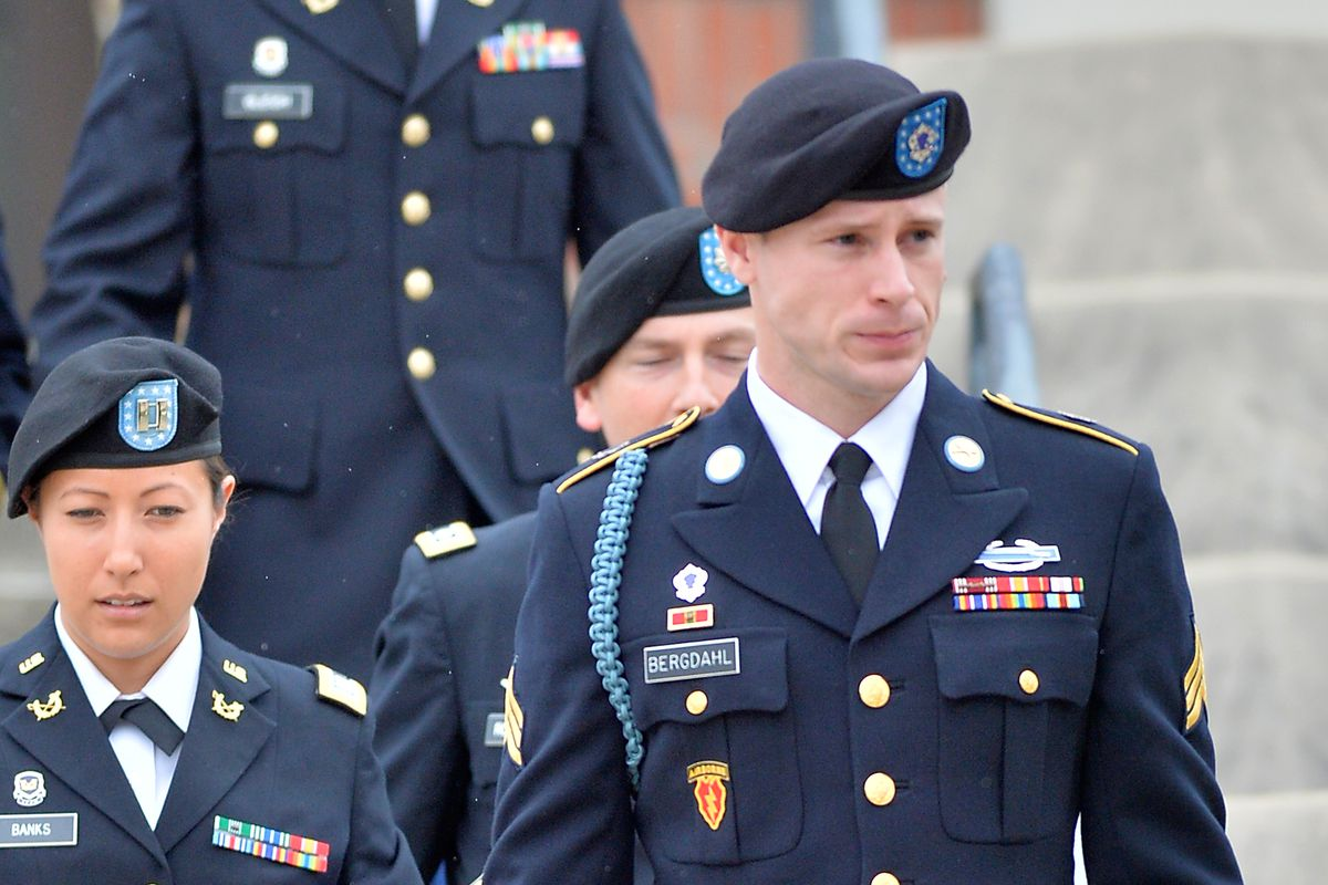 U.S. Army Conducts Military Legal Hearing In Bowe Bergdahl Case