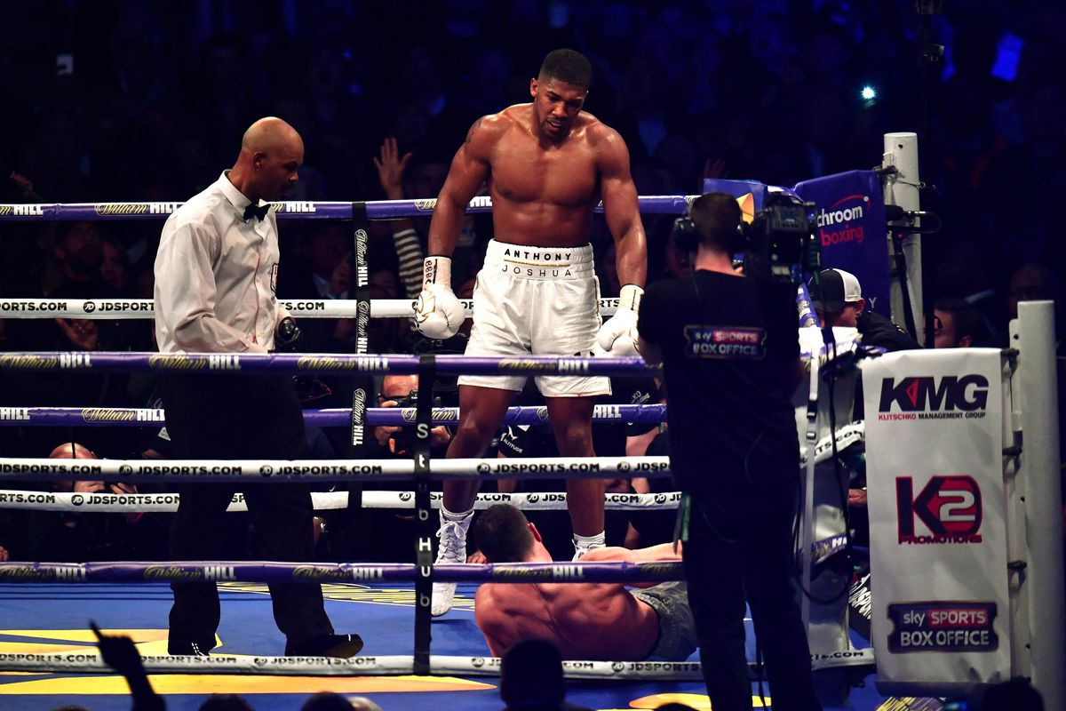43f6d9a0266 Anthony Joshua vs. Wladimir Klitschko post-fight results and analysis