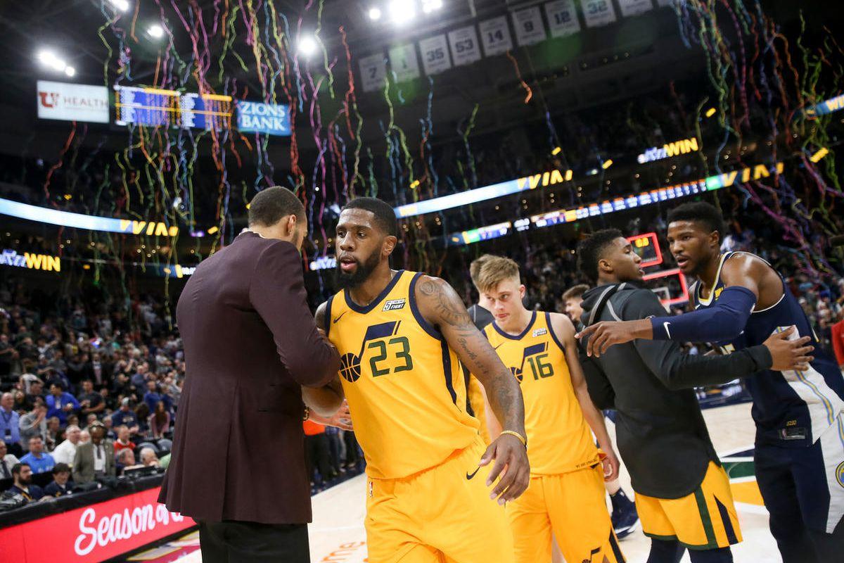 Despite Injuries Utah Jazz Humming As