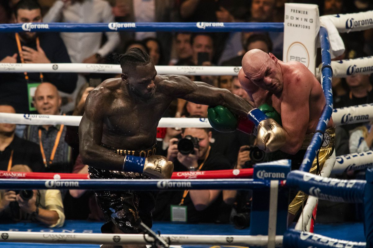 Image result for deontay wilder, tyson fury