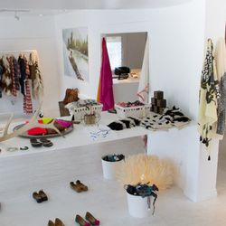 """""""I love [Venice's] beach vibe and the mix of eclectic, high- and low-end stores,"""" von Watzdorf says. """"I believe Figue style lends itself well to the California lifestyle—easy, comfortable, bohemian and colorful."""""""