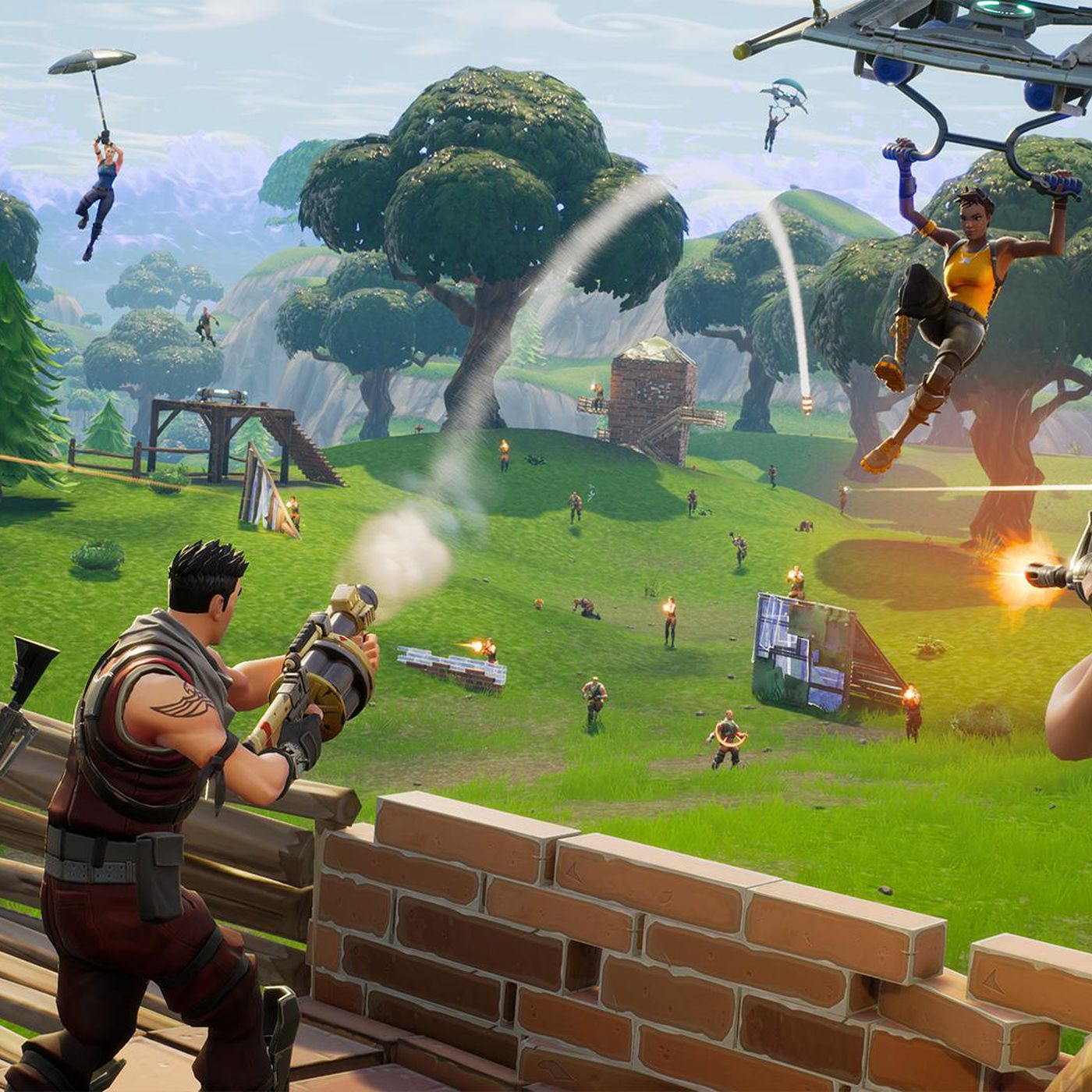 Fortnite's 50 v 50 mode is teaching players how to be less selfish