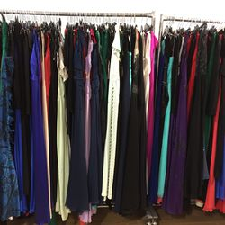 Gowns, sizes 0-14