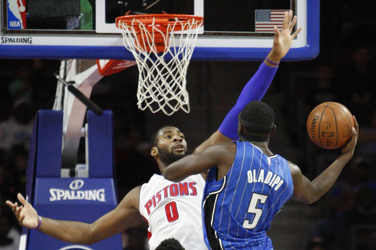 Andre Drummond and Victor Oladipo