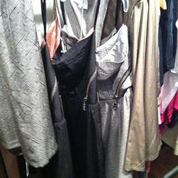 The bustier zip-detail dress is super hot