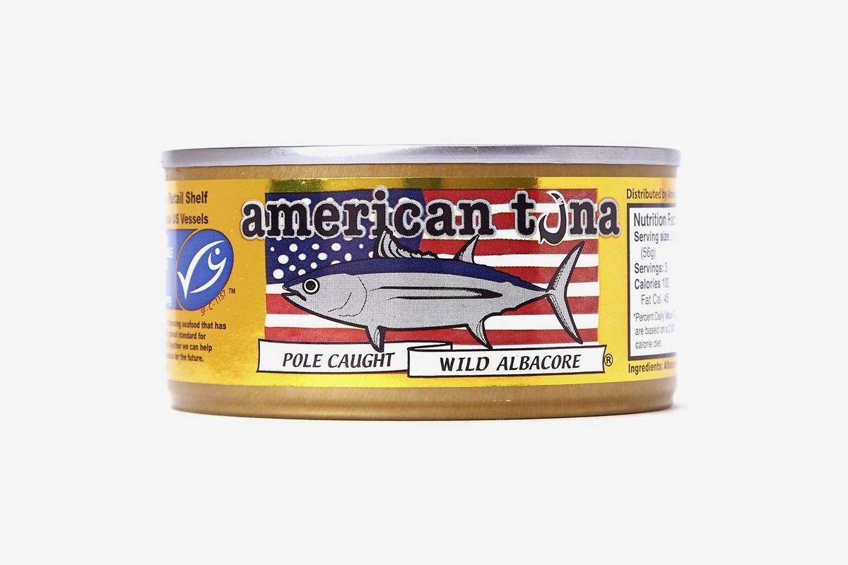 A can of American tuna