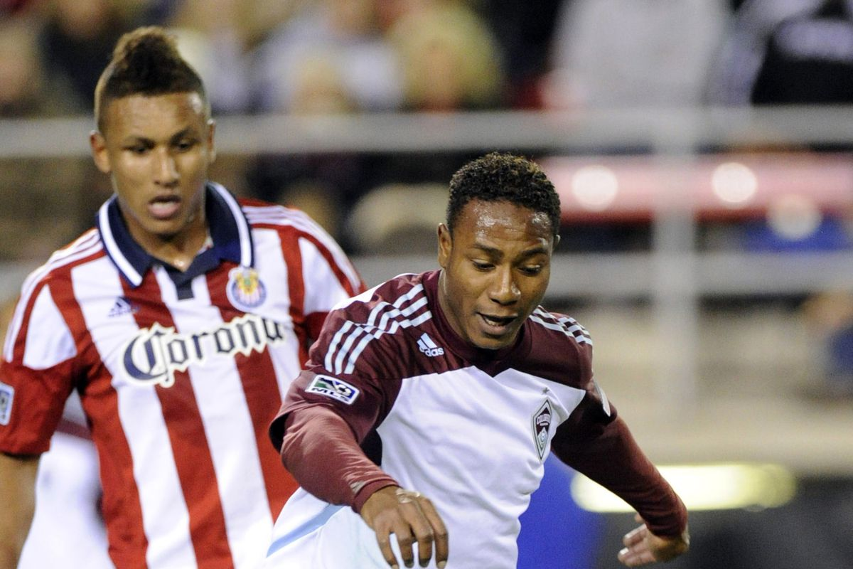 Agudelo: Time to step up.