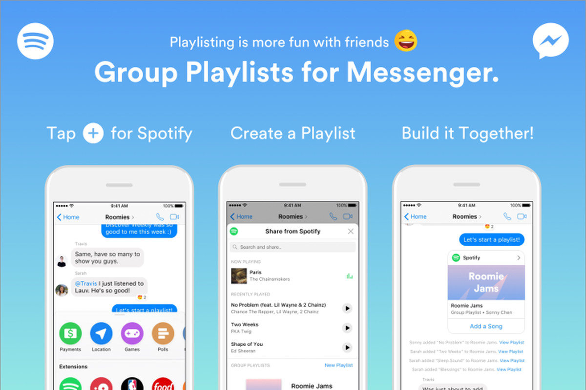 Now you can build shared Spotify playlists with your friends