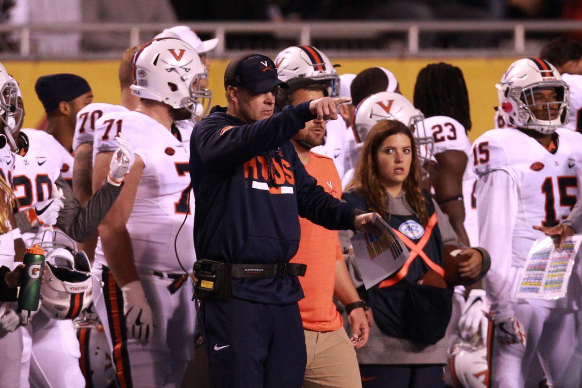 NCAA Football: Virginia at Boise State
