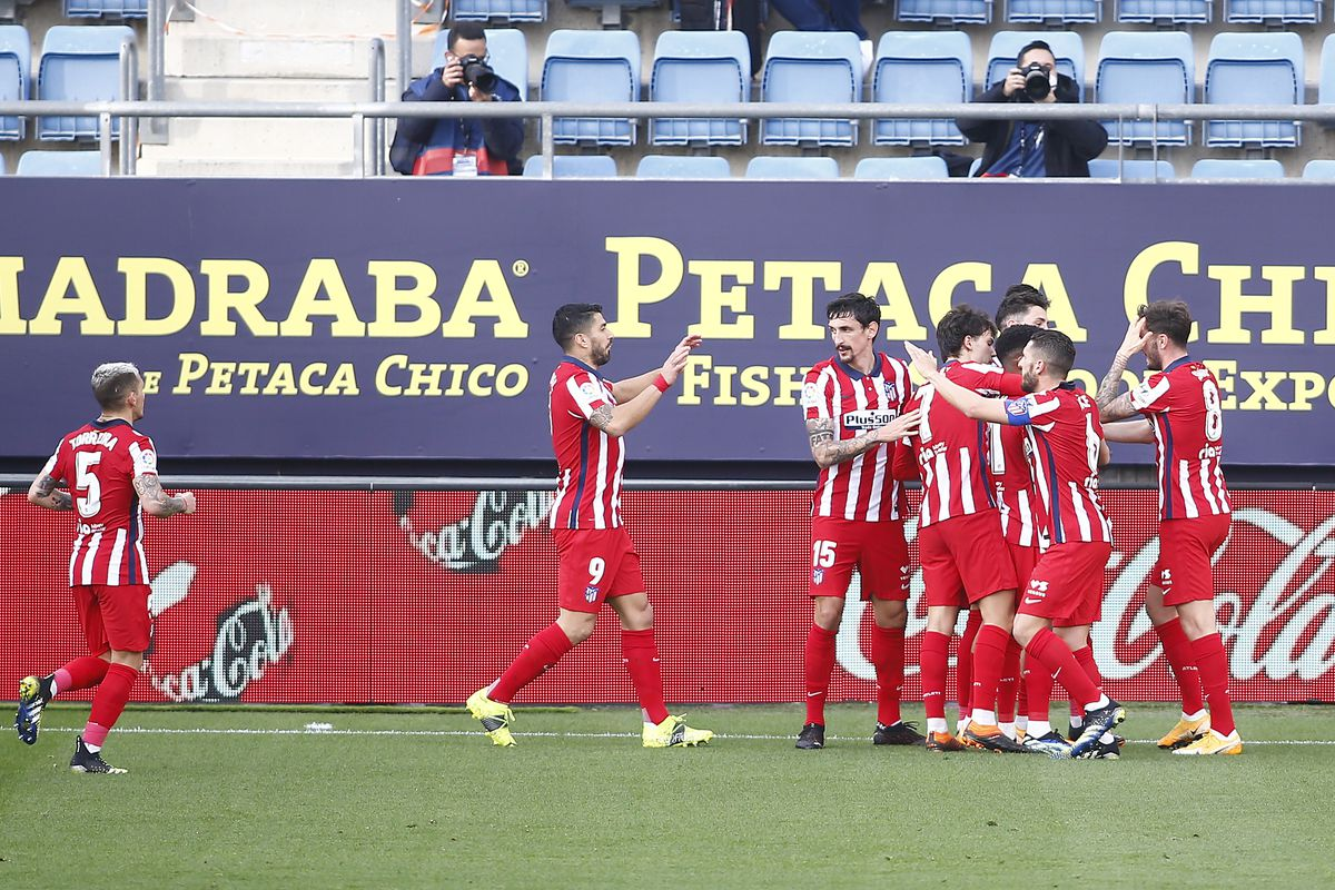 Ratings Suarez Leads The Way In Atletico S Win At Cadiz Into The Calderon