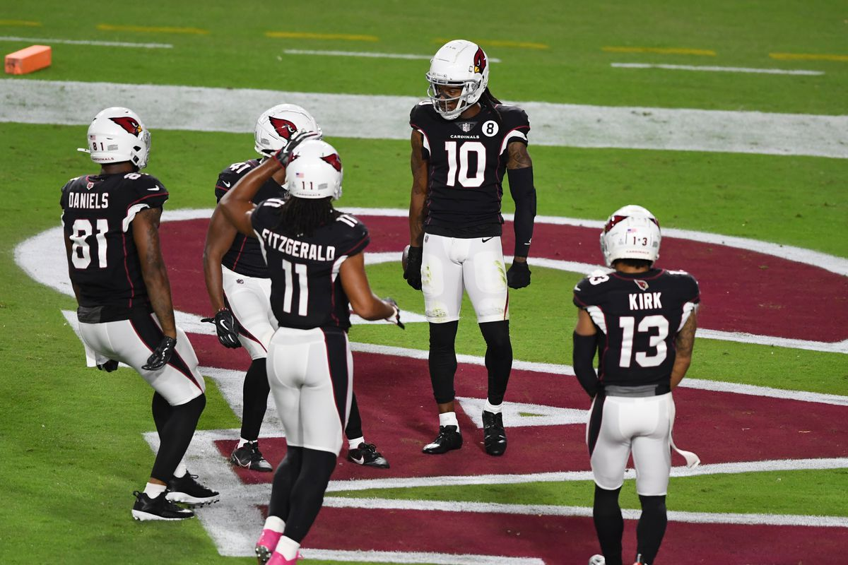 Fantasy football start/sit advice: What to do with DeAndre Hopkins, Christian  Kirk, Larry Fitzgerald in Week 9 - DraftKings Nation