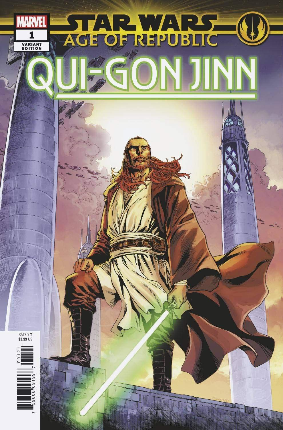 qui-gon age of republic comic book