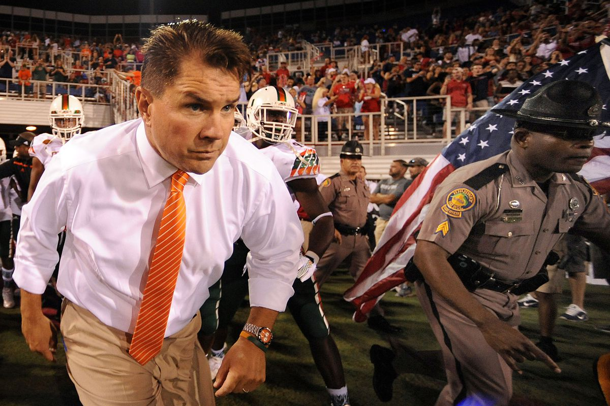 Al Golden Running Off the Field After Escaping With Win Over FAU Last Friday Night