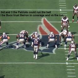 Mark Barron as dime backer