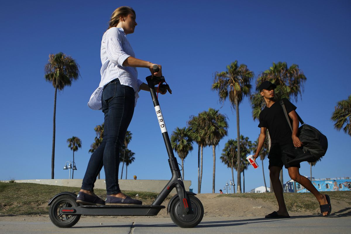 Bird's new scooter delivery service could become a clever hack