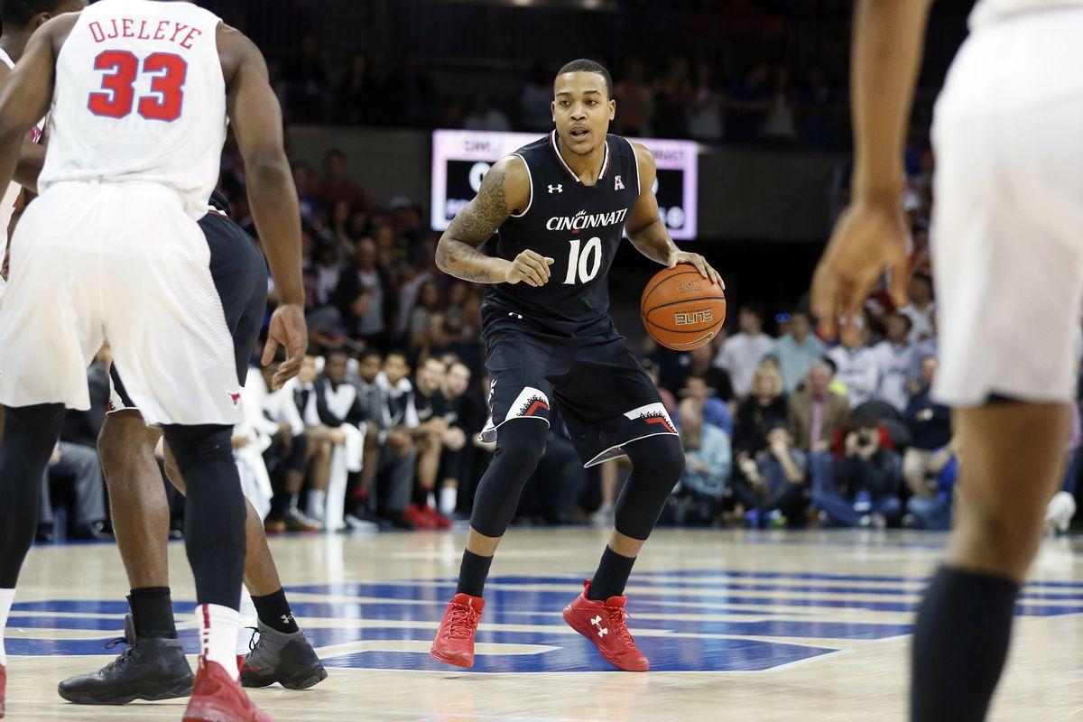 NCAA Basketball: Cincinnati at Southern Methodist