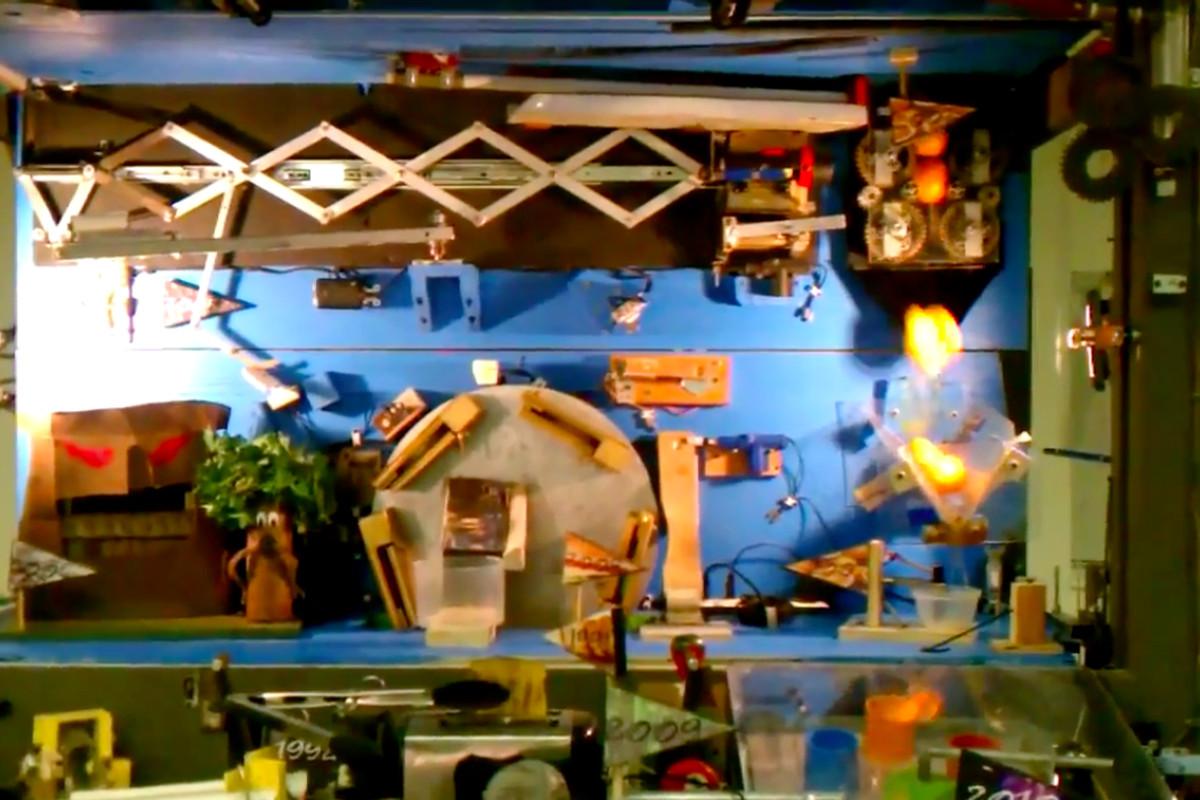 300-step Rube Goldberg machine sets new world record (video ...