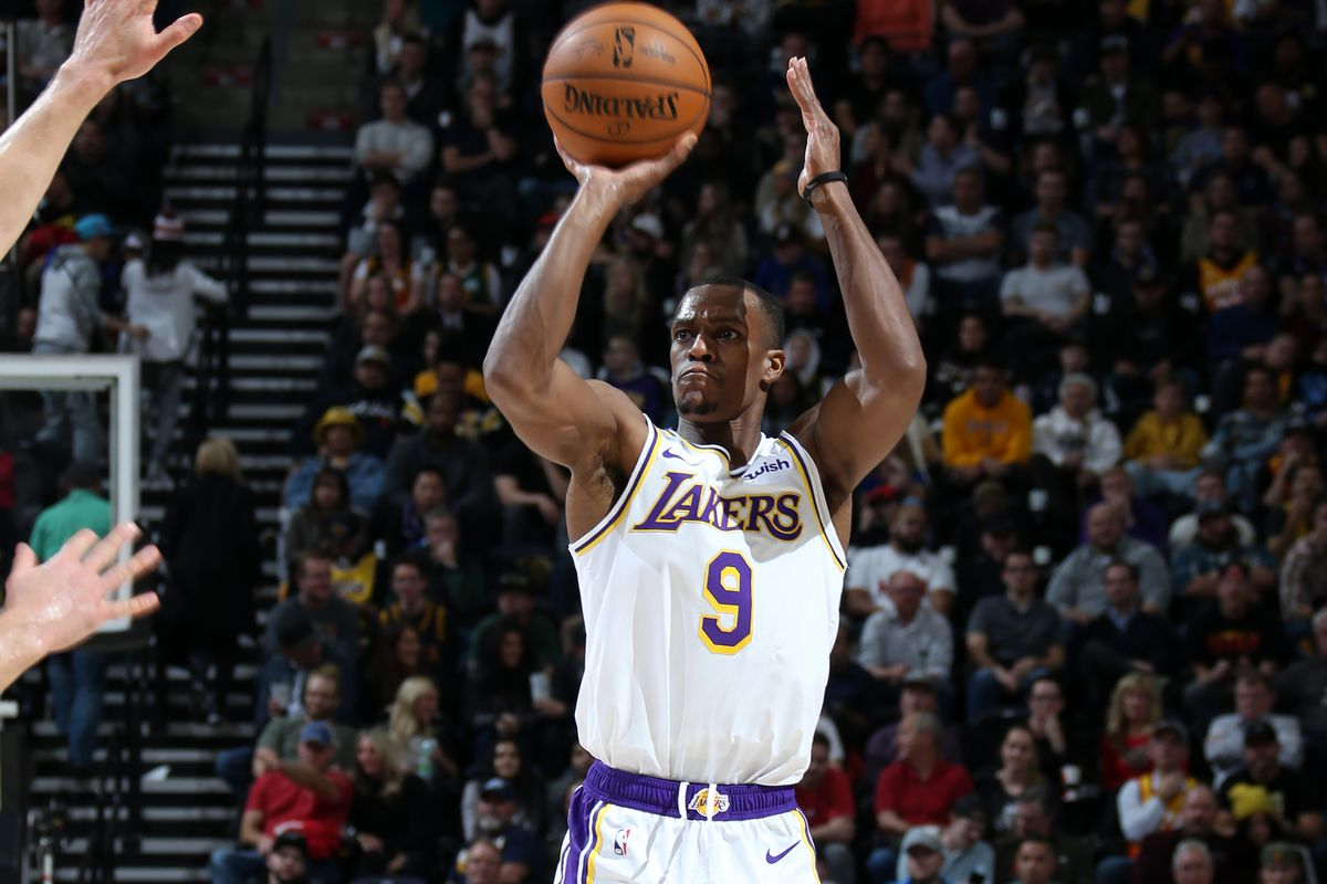 Lakers Highlights: Rajon Rondo has been shooting the lights out lately