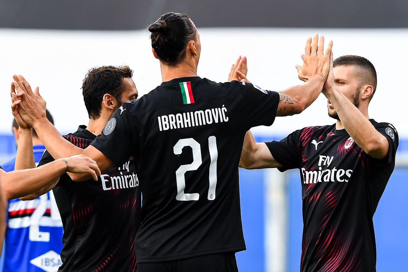 AC Milan Hit Two Milestones In Sampdoria Win For The First Time Since 2012/13