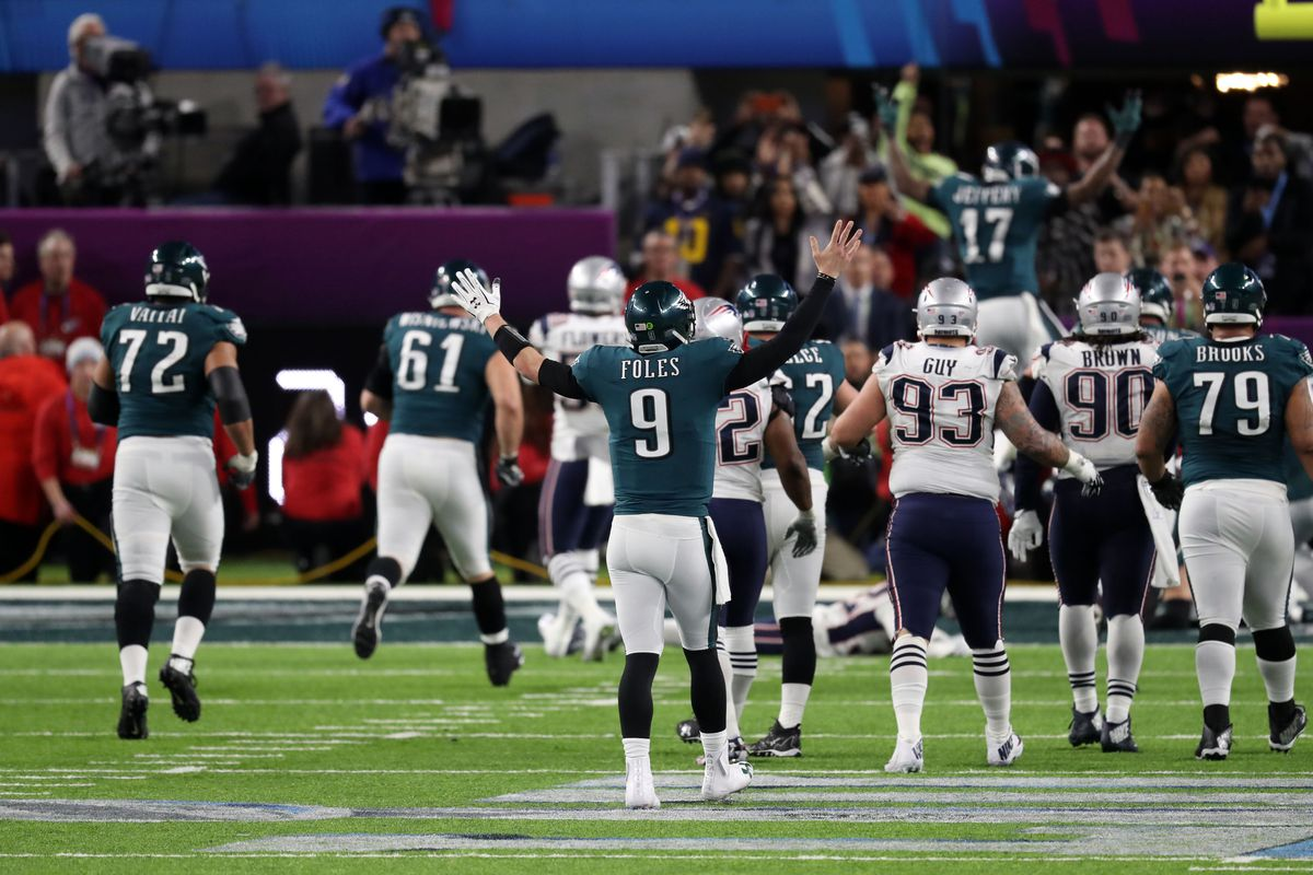 7ebf2b307b3 Super Bowl 2018 final score for Eagles vs. Patriots  Eagles fought like  hell to win their 1st Super Bowl