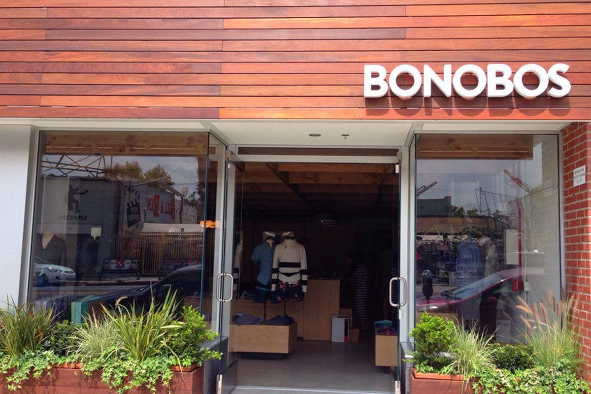 Bonobos's LA Guideshop on La Brea Avenue.