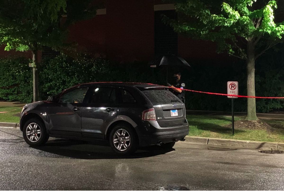 Police cordon off an SUV outside West Suburban Medical Center in Oak Park after 3-year-old Mekhi James was shot while riding in the vehicle with his father in Austin last June 20. His father rushed Mekhi to the hospital, where he was pronounced dead — one of 104 people shot over a particularly violent Father's Day weekend last year.