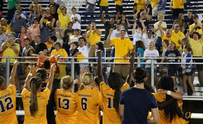 WVU Women's Soccer Beat Duke