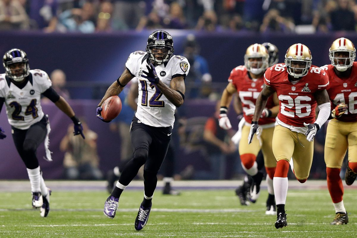 Super Bowl XLVII  Jacoby Jones comes up big in Ravens win - SBNation.com 2d88690bf