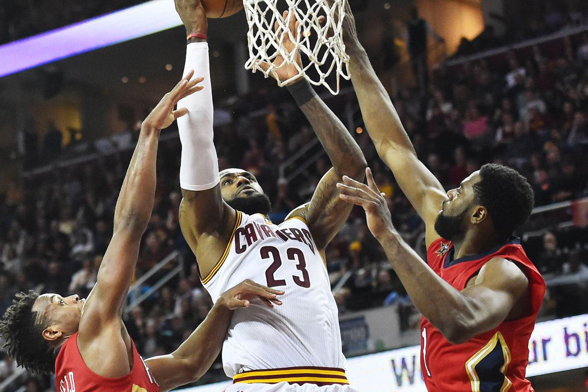 NBA: New Orleans Pelicans at Cleveland Cavaliers
