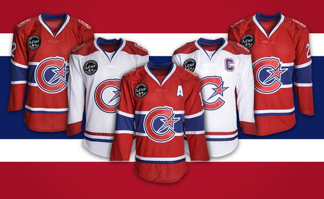Les Canadiennes de Montreal home away jersey sweater logo symbol crest reveal rebrand
