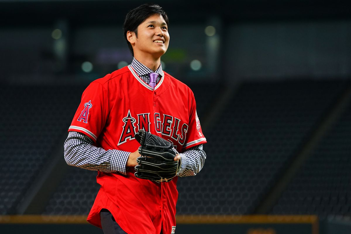 Ohtani begins busy spring for Angels