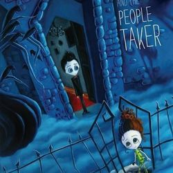 """""""Gutav Gloom and the People Taker"""" is by Adam-Troy Castro and illustrated by Kristen Margiotta."""