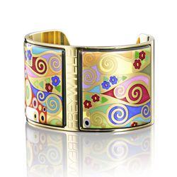 Hope Hommage a Gustav Klimt Diva bangle, $1,465