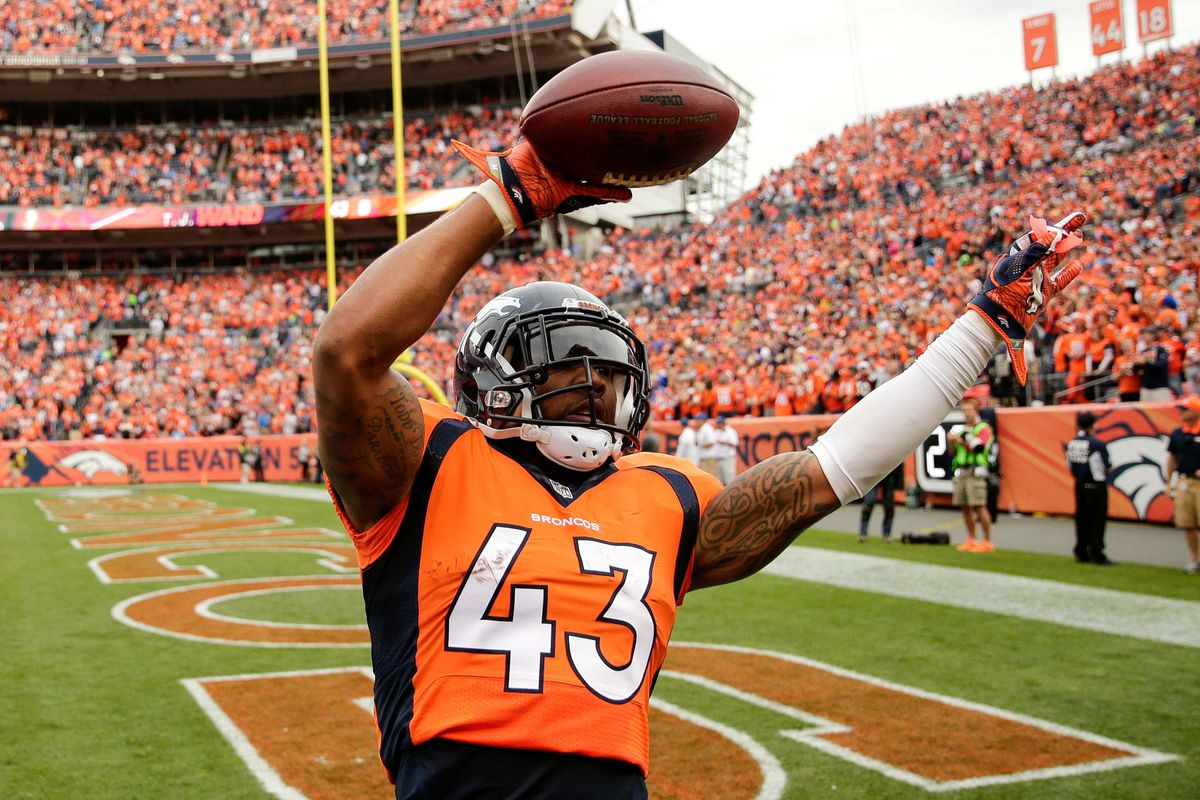 Report T J Ward released by Broncos Mile High Report