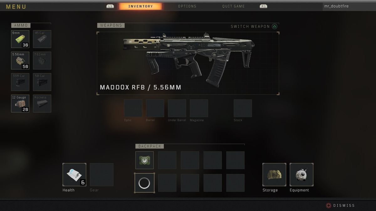 Weapons Blackout Guide 4 Black Call Of Ops Duty Items And