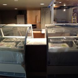 The gelato bar will also house fresh pastries each morning