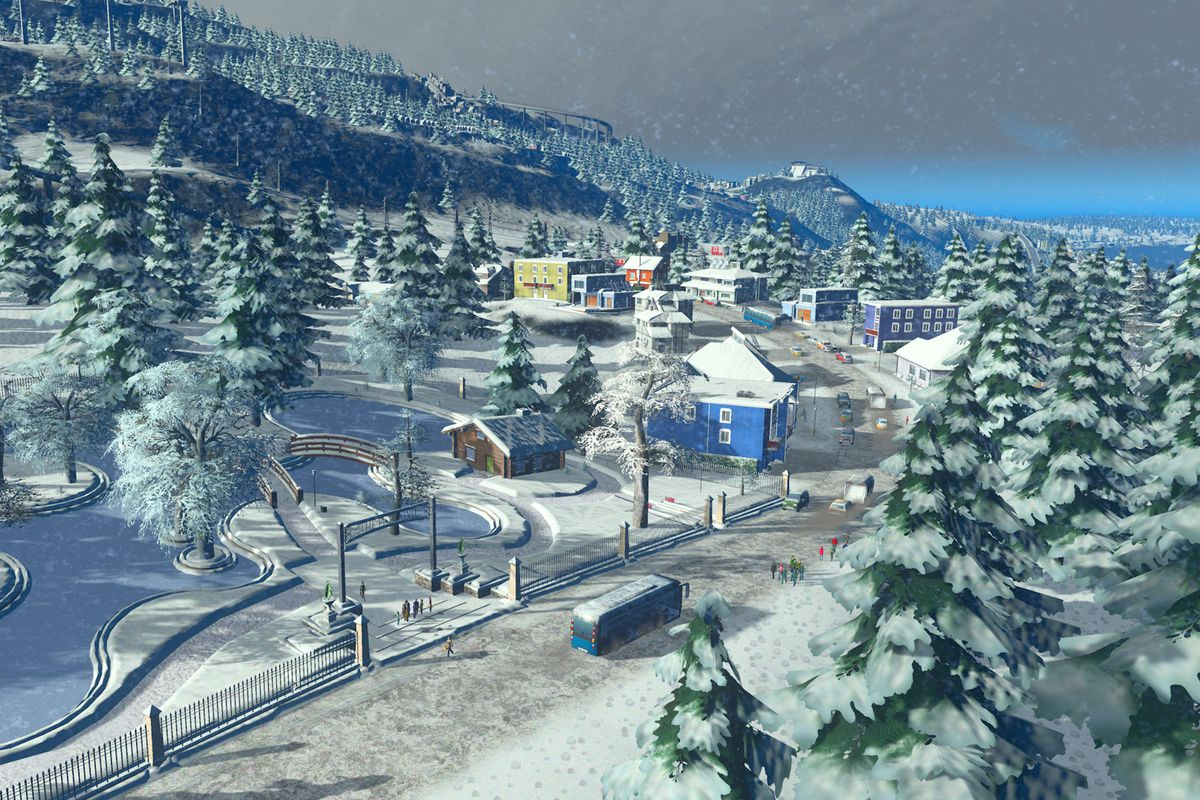 Cities: Skylines — Snowfall