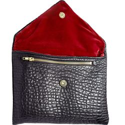 """""""We had a strong concept for the clutches and stuck to it. I can't get enough of the bag's texture."""""""