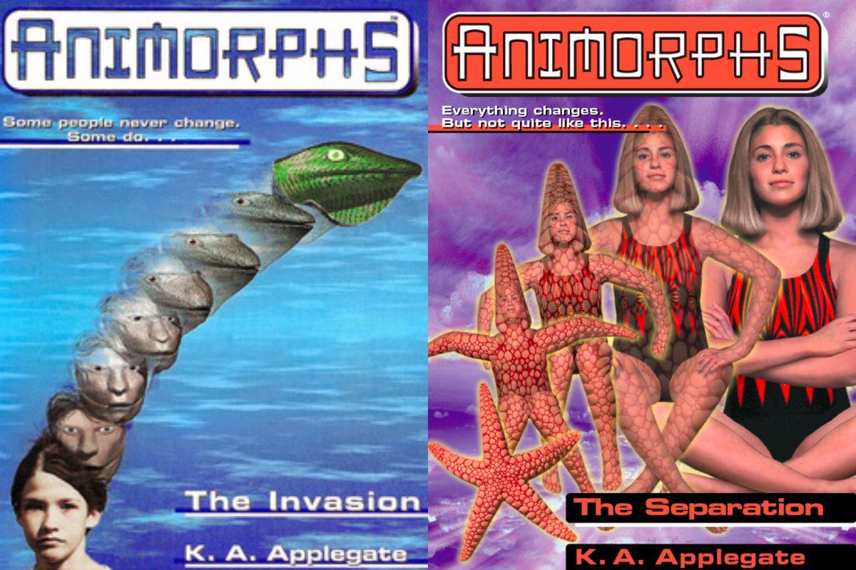 how the animorph books became vital representation for trans kids vox