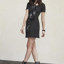 Jane dress, $78 (also available in black and black and red stripes)