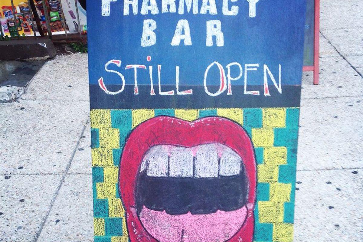 Pharmacy Bar