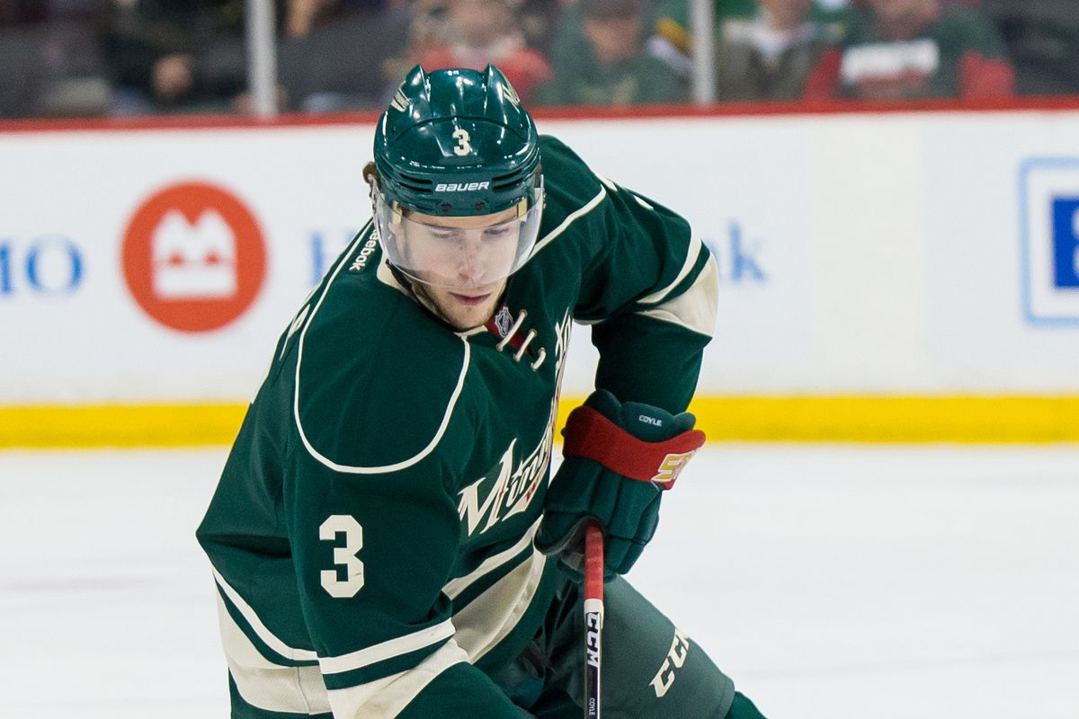 Charlie Coyle had issues with consistency, but his season was a huge reason for optimism.