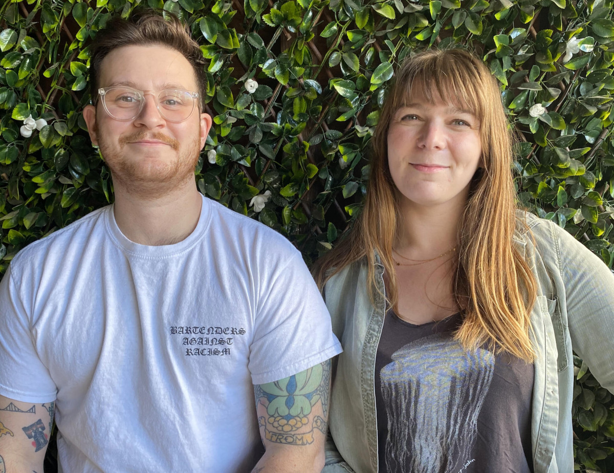Compliments Only partners Pete Sitcov and Emily Cipes