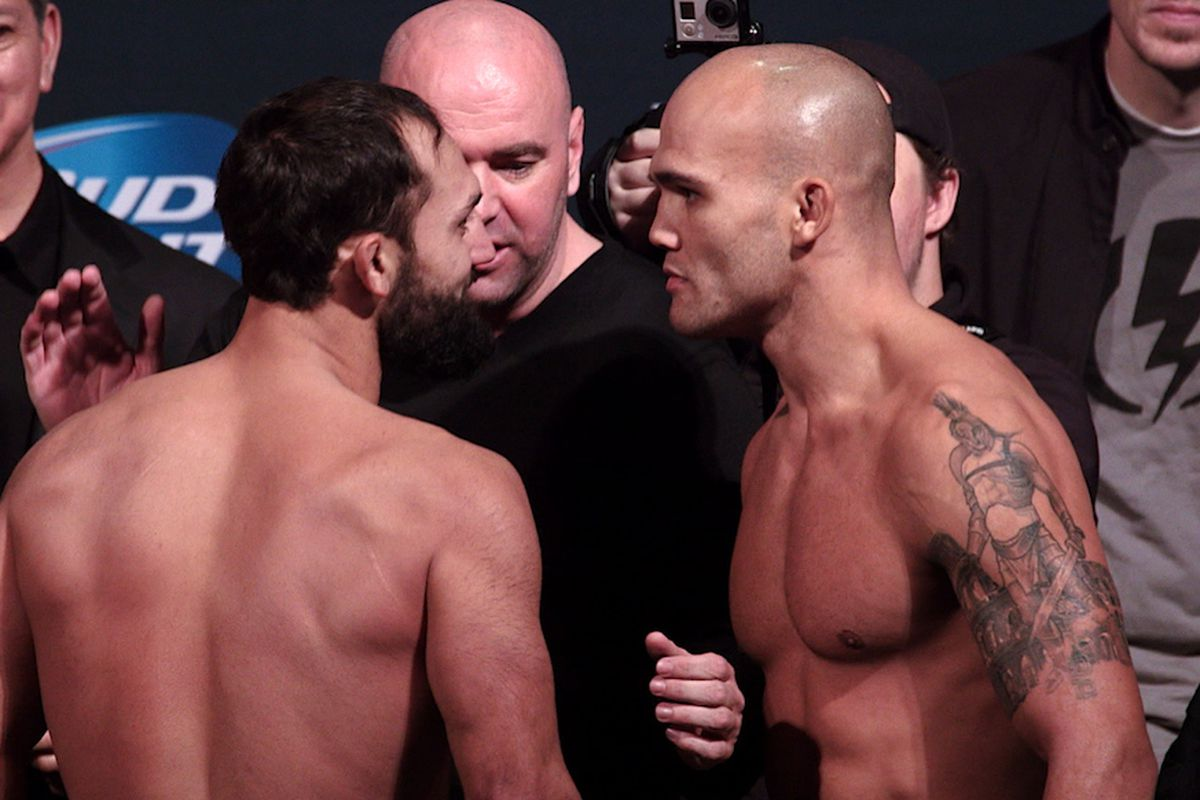 Johny Hendricks and Robbie Lawler will square off again in the UFC 181 main event Saturday.