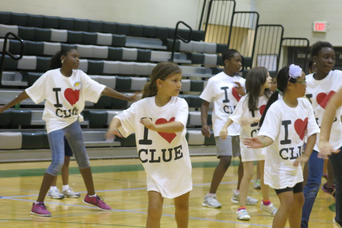 Students in Memphis attend a camp for CLUE, Shelby County's gifted program.