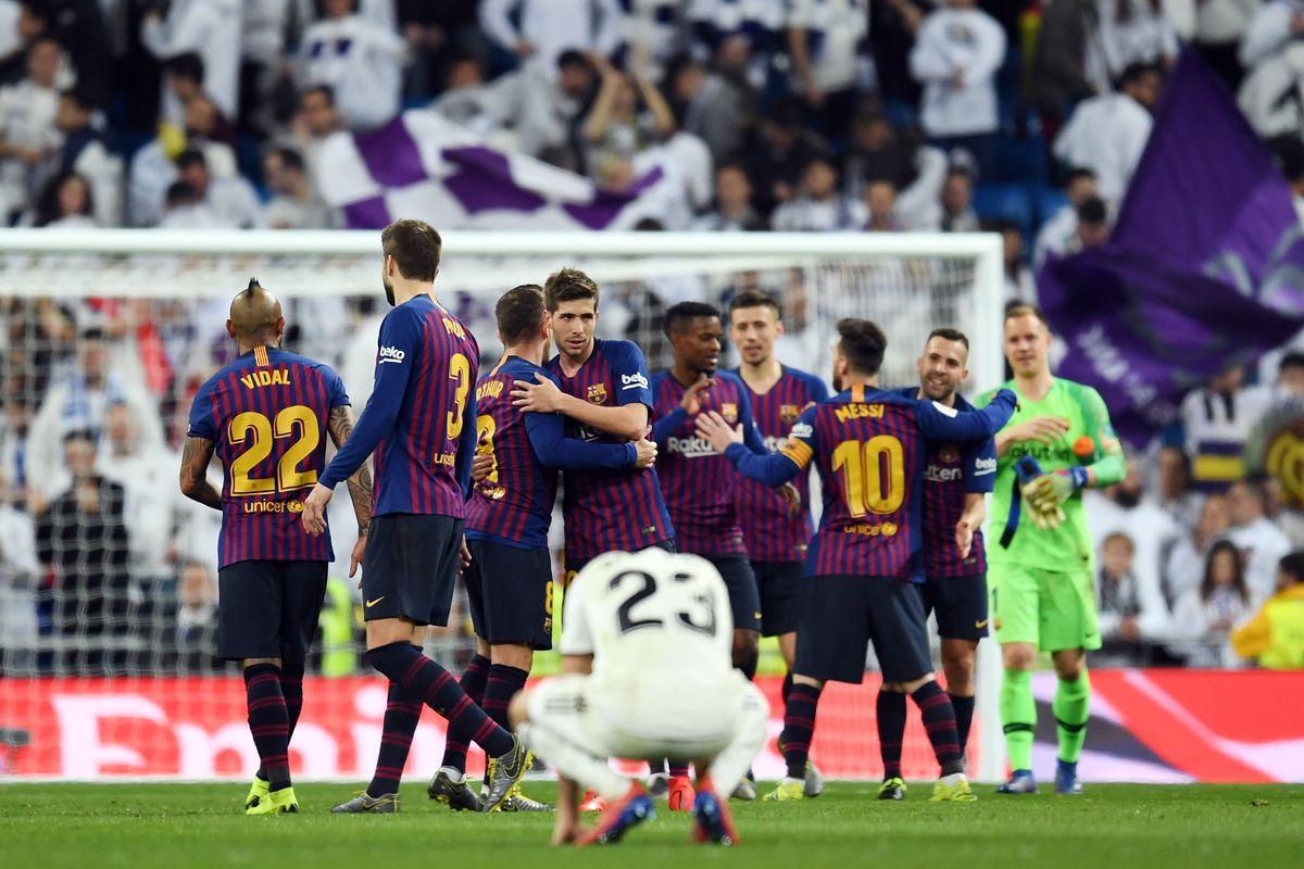 El Clásico Stats  Barcelona 3-0 Real Madrid - Barca Blaugranes 66be8e2b1811e
