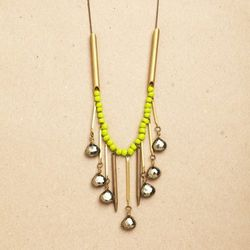 """Necklace by <a href=""""http://www.afshaanrahman.com/gallery"""">Afshaan Rahman</a>, $98"""