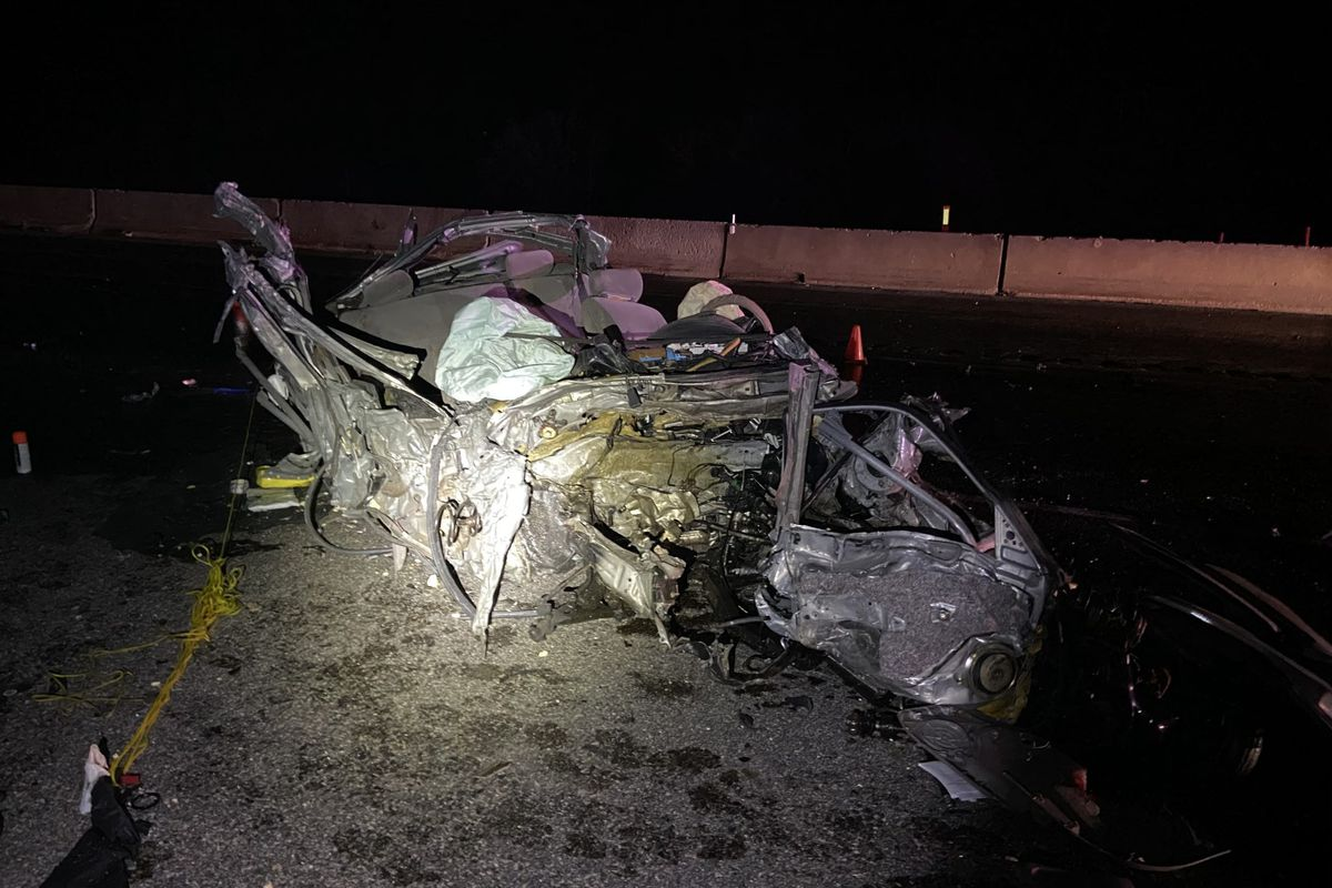 A wrong-way driver died Saturday, May 9, 2020, in a crash at Parley's Canyon. The passengers in the other vehicle escaped before the vehicle burst into blames, according to troopers.